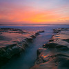 sunset at Hospital Reef, La Jolla CA