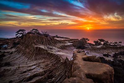 Broken Hill Trail at sunset