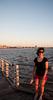 Cath on St Kilda Pier