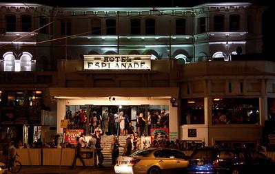 The legendary Esplanade Hotel