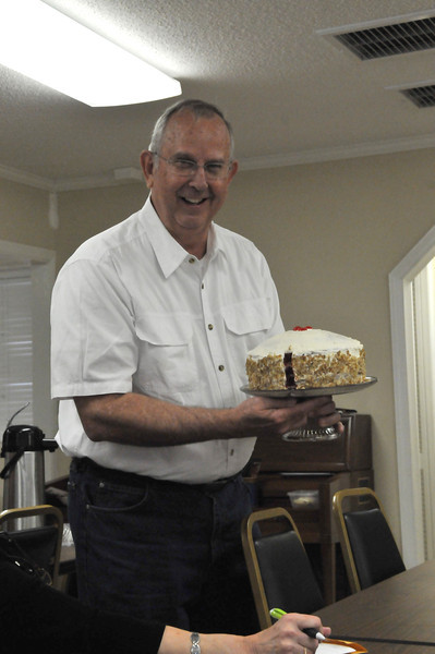 Mike Newman's Red Velvet (Bobby Flay recipe from Food Network)cake was the best cake to give to your pastor.