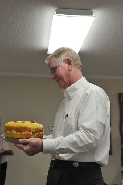 Jerry Lancaster's Pineapple cake was the Best Tasting