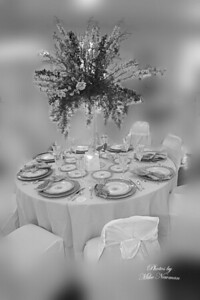 Opal's Table bw