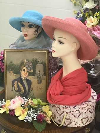 Mannequins decorated by:  Joan Simmons, Jacque Hardy,  Ann Davis and Judi Jennings