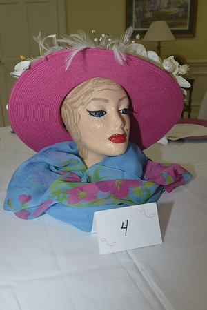 Mannequins decorated by Joan Simmons, Jacque Hardy, Ann Davis and Judi Jenning