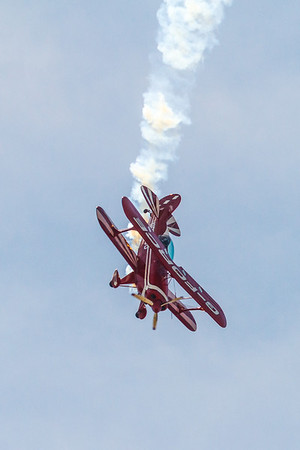 Pitts Special - S2-B aerobatic biplane designed by Cirtus Pitts
