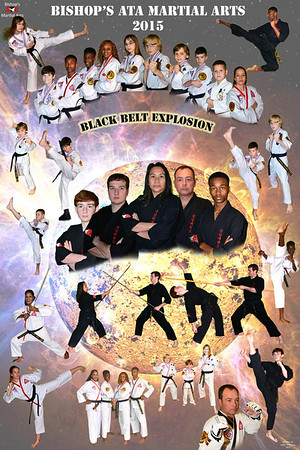 Bishop's ATA Black Belt Explosion