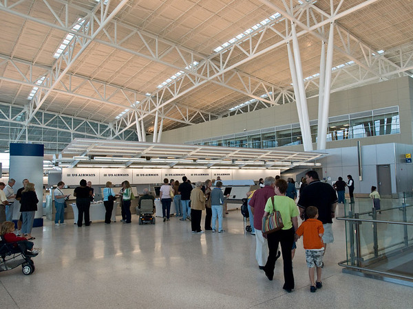 New Indianapolis Airport Midfield Terminal