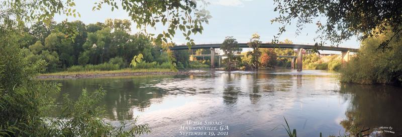 Uchee Shoals upstream