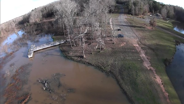 Drone Footage by Mike Newman taken 1/7/2019