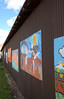 Children's art wall - Moab, Utah