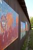 Children's art wall II - Moab, Utah