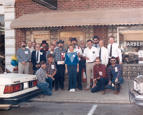 Sesqui Centennial Beard contest 1982