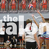 Eagles in Volleybrawl at Argyle High School   Argyle, TXFebruary 8, 2019. (Karina Navarro/ The Talon News)