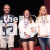 Students come on stage after being drawn from the attendance ticket roll.  Friday at Argyle High School in Argyle , Texas. (Photo by: Quinn Calendine)