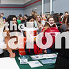 Students participate in the 2019 college fair at Argyle High School in Argyle, Texas on September 9, 2019 (Staff / The Talon News)