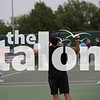 Students compete against Teachers at the first annual tennis tournament in Argyle, Texas on Tuesday. (Kirby Reyes) (Kirby Reyes/The Talon News)