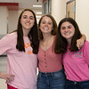 Students participate in hoco dress up day Color wars. Oct. 11, 2019. (The Talon News | Sloan Dial)