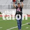 Juniors take on the Seniors for  Powderpuff at Argyle High School in Argyle, Texas , on April 24, 2018. (Claire Burkett / The Talon News)