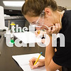 Kids work on Density Lab in Chemistry Class (Photo by: Carly Haynes)