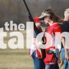 Argyle High school's Shooting team practices for their upcoming tournament. (Hayden Calendine / The Talon News)