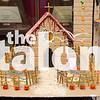 Spooky houses made by Art students.<br /> Spooky Houses (10-27-17) at Argyle High School in Argyle, Texas, on September 26, 2012. (Faith Stapleton / The Talon News)