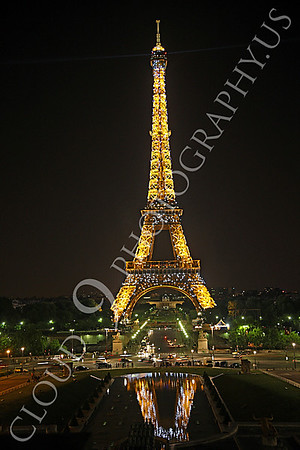 Eiffell Tower 00015 Eiffell Tower in Paris, France by Peter J Mancus