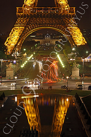Eiffell Tower 00007 Eiffell Tower in Paris, France by Peter J Mancus