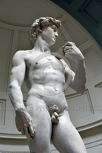 "STY-DAVID 001 Michelangelo's awesome statue of ""David"" is perhaps the world's most famous artwork, statue picture by Peter J  Mancus"