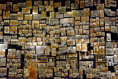 KIEV WWII MUSEUM 0008 A very small percentage of real World War II era photographs in the Kiev World II Museum of Ukrainians who fought against invading Germans during World War II, picture by Peter J  Mancus