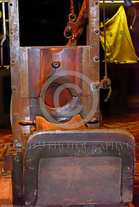 KIEV WWII MUSEUM 0011 A guillotine in Kiev's World War II museum, picture by Peter J  Mancus