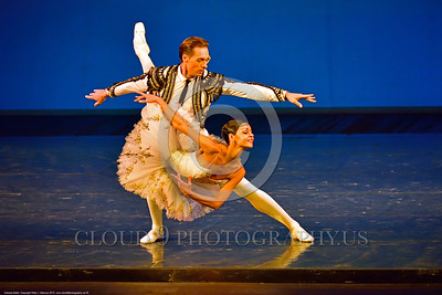 Odessa Ballet 00005 Two of Odessa, Ukraine's Opra House star ballet performers manifest their masterful skill during a ballet performance, ballet picture by Peter J  Mancus
