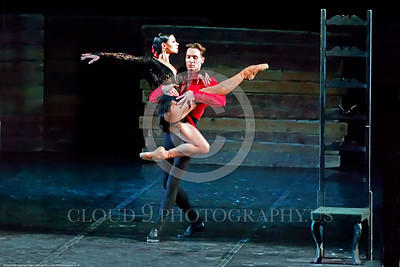 Odessa Ballet 00010 Two of Odessa, Ukraine's Opra House star ballet performers during a performance of Carmen in 2015, ballet picture by Peter J  Mancus