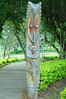 Totem at the National Museum