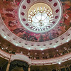 The ceiling of the New Stage of the Bolshoi Theater