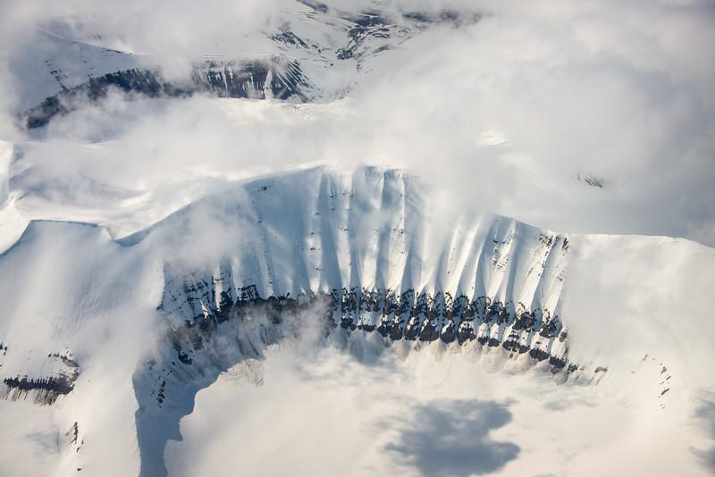 Glacial-erosion cirque formation