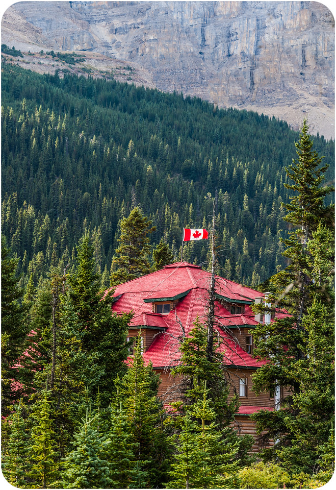 Num-Ti-Jah Lodge,  Bow Lake