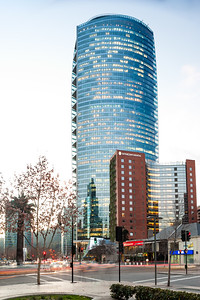 Edificio Titanium y hotel Intercontinental.