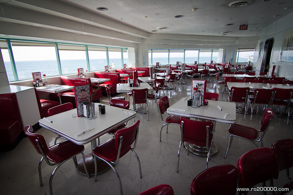 Ruby's Diner, Huntington Beach Pier