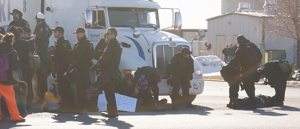 Walmart protest arrests - Loveland,Co 2011 (2)