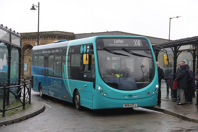 Arriva North East 1572 Whitby Bus Station Nov 19