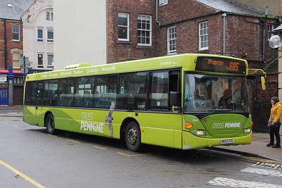 Arriva North East 4660 Carlisle Bus Station 1 Sep 18