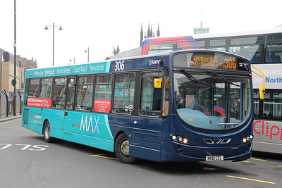 Arriva North East 1496 Haymarket Bus Station Newcastle Jul 17