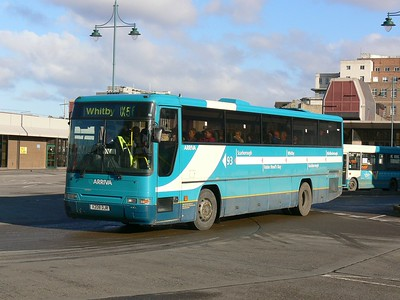 Arriva North East 1208 Brentnall St Middlesbrough Feb 09
