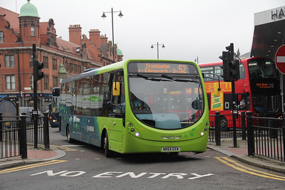 Arriva North East 1583 Haymarket Bus Station Newcastle Jul 17