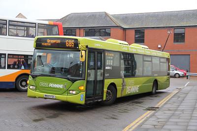 Arriva North East 4660 Carlisle Bus Station 4 Sep 18