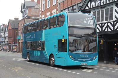Arriva Cymru 4407 Foregate St Chester Apr 14