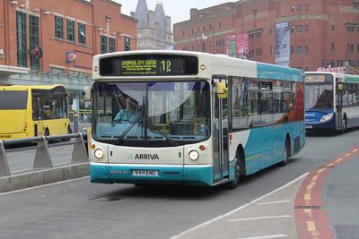 Arriva Merseyside 2411 Hood Street Liverpool Apr 14