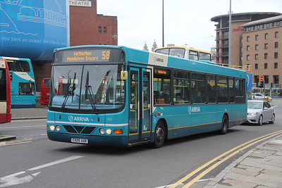 Arriva Merseyside 2512 St Georges Place Liverpool Sep 17