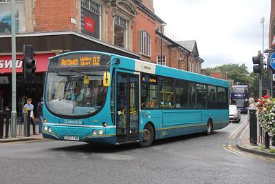 Arriva Cymru 2662 Love Street Chester Sep 17